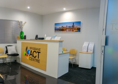 Brisbane ACT Centre Reception