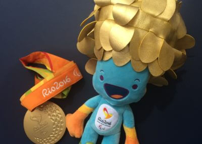 Medal and Mascot